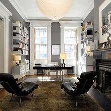 Фотография: Офис в стиле Классический, Современный, Кабинет, Стиль жизни, Советы – фото на InMyRoom.ru
