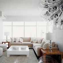 Фотография: Гостиная в стиле Современный, Классический, Декор интерьера, Декор, Мебель и свет, Советы – фото на InMyRoom.ru