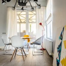 Фотография: Кухня и столовая в стиле Лофт, Современный, Квартира, Дом, Минимализм, Проект недели – фото на InMyRoom.ru