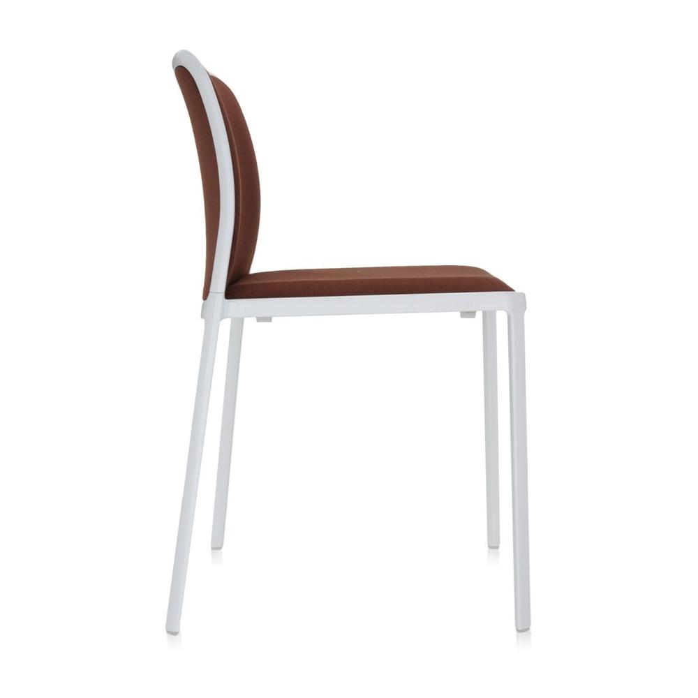 белые стулья коричневая ткань фото поразмыслив, как