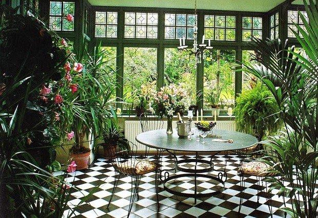 Фотография: Кухня и столовая в стиле Прованс и Кантри, Балкон, Дом, Дома и квартиры – фото на InMyRoom.ru