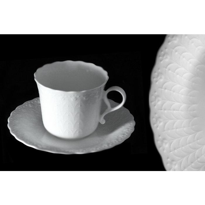 Набор из кофейных чашек с блюдцами Шёлк
