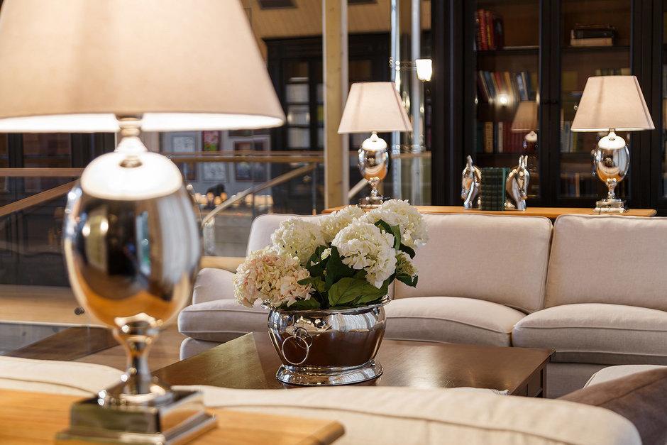 Фотография: Гостиная в стиле , Классический, Дом, Дома и квартиры, Проект недели, Дача – фото на InMyRoom.ru
