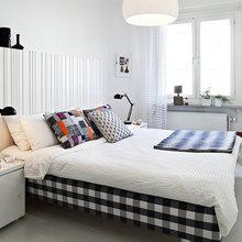 Фотография: Спальня в стиле Хай-тек, Скандинавский, Квартира, Швеция, Дизайн интерьера – фото на InMyRoom.ru