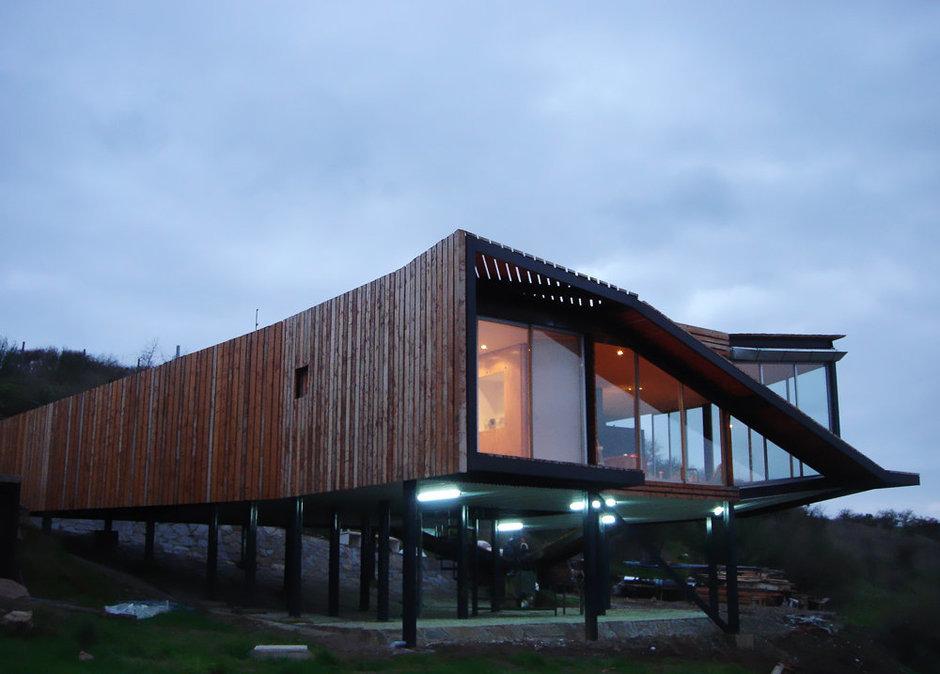 Фотография: Архитектура в стиле Современный, Декор интерьера, Дом, Дома и квартиры, Архитектурные объекты, Чили – фото на InMyRoom.ru