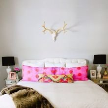 Фотография: Спальня в стиле Скандинавский, Декор интерьера, Мебель и свет, Декор дома, Советы, Ковер – фото на InMyRoom.ru
