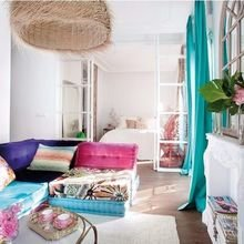Фотография: Гостиная в стиле Восточный, Декор интерьера, Квартира, Декор, Советы – фото на InMyRoom.ru