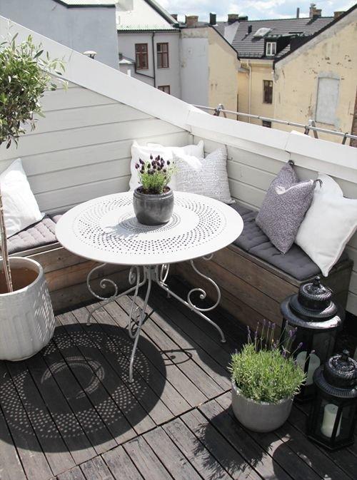 Фотография: Балкон, Терраса в стиле Прованс и Кантри, Интерьер комнат – фото на InMyRoom.ru