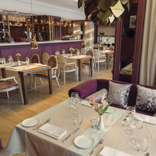 Фото из портфолио Ресторан Делон - основной зал. – фотографии дизайна интерьеров на InMyRoom.ru