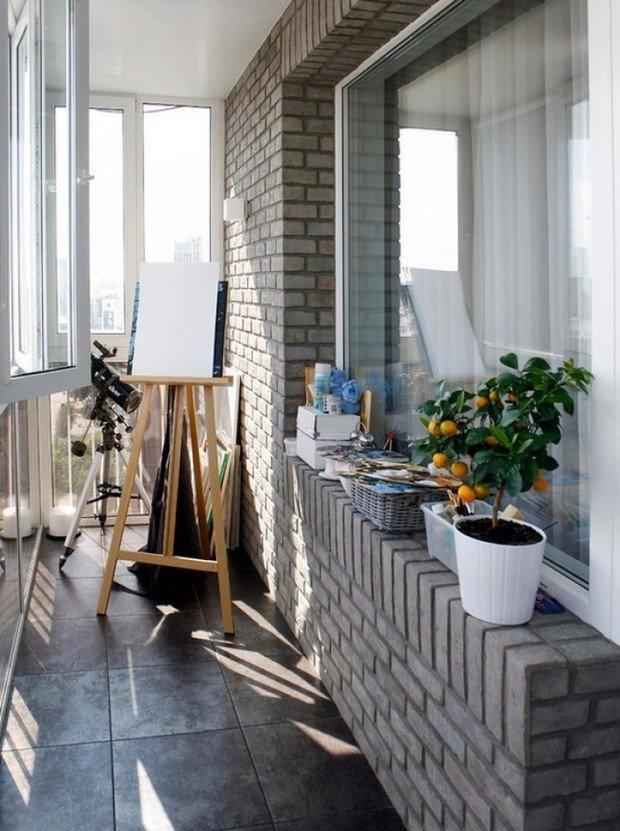 Фотография: Балкон в стиле Лофт, Советы, уборка, городской балкон – фото на INMYROOM