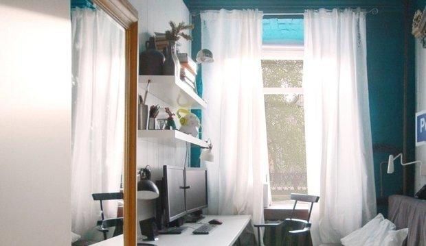 Фотография: Кабинет в стиле Скандинавский, Квартира, Гид, коммуналка – фото на INMYROOM