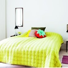 Фотография: Спальня в стиле Минимализм, Декор интерьера, DIY, Дизайн интерьера, Цвет в интерьере – фото на InMyRoom.ru