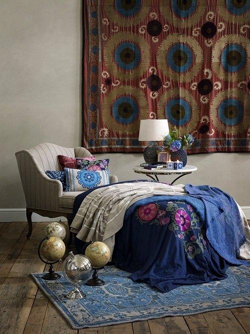 Фотография: Мебель и свет в стиле Восточный, Декор интерьера, Квартира, Дом, Декор дома, Текстиль, Zara Home – фото на InMyRoom.ru