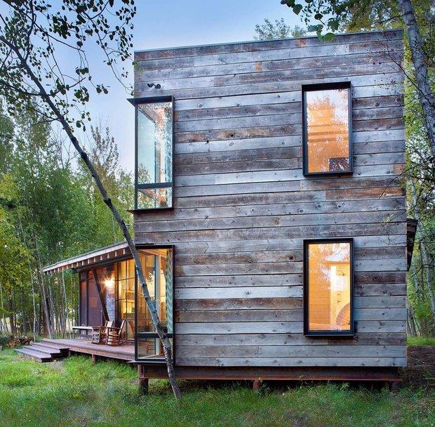 Фотография: Архитектура в стиле , Декор интерьера, Дом, США, Дача, Коричневый – фото на INMYROOM