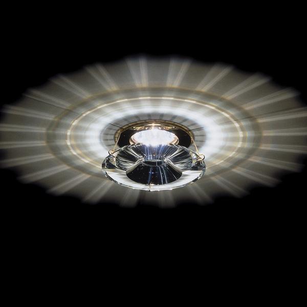 Встраиваемый светильник Swarovski Atlas из прозрачного хрусталя