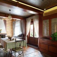 Фотография: Кухня и столовая в стиле Кантри, Дом, Дома и квартиры, Проект недели, Дача – фото на InMyRoom.ru