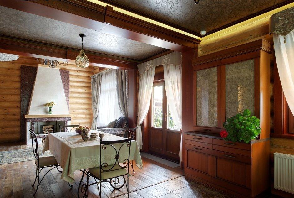Фотография: Кухня и столовая в стиле Прованс и Кантри, Дом, Дома и квартиры, Проект недели, Дача – фото на InMyRoom.ru