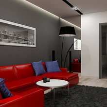 Фото из портфолио Современная двушка в панельном доме – фотографии дизайна интерьеров на INMYROOM