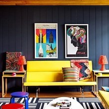 Фотография: Гостиная в стиле Эклектика, Декор интерьера, Дом, Дома и квартиры – фото на InMyRoom.ru