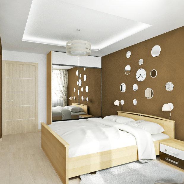 Фотография: Спальня в стиле Современный, Квартира, Мебель и свет, Советы, Ремонт на практике – фото на InMyRoom.ru