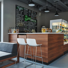 Фото из портфолио кафе Monkey's – фотографии дизайна интерьеров на INMYROOM