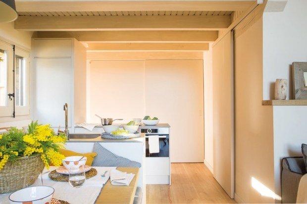 Фотография: Кухня и столовая в стиле Эко, Дом, Испания, Дача, Бежевый, Дом и дача, 4 и больше, Более 90 метров – фото на INMYROOM