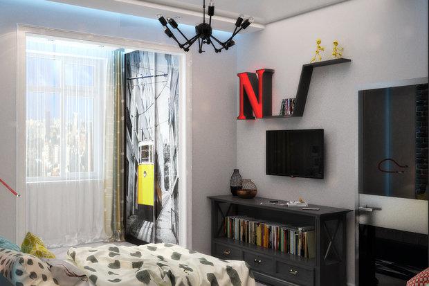 Фотография: Детская в стиле Эклектика, Квартира, Дома и квартиры, Проект недели, Москва – фото на INMYROOM