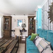 Фотография: Гостиная в стиле Кантри, Декор интерьера, Интерьер комнат – фото на InMyRoom.ru