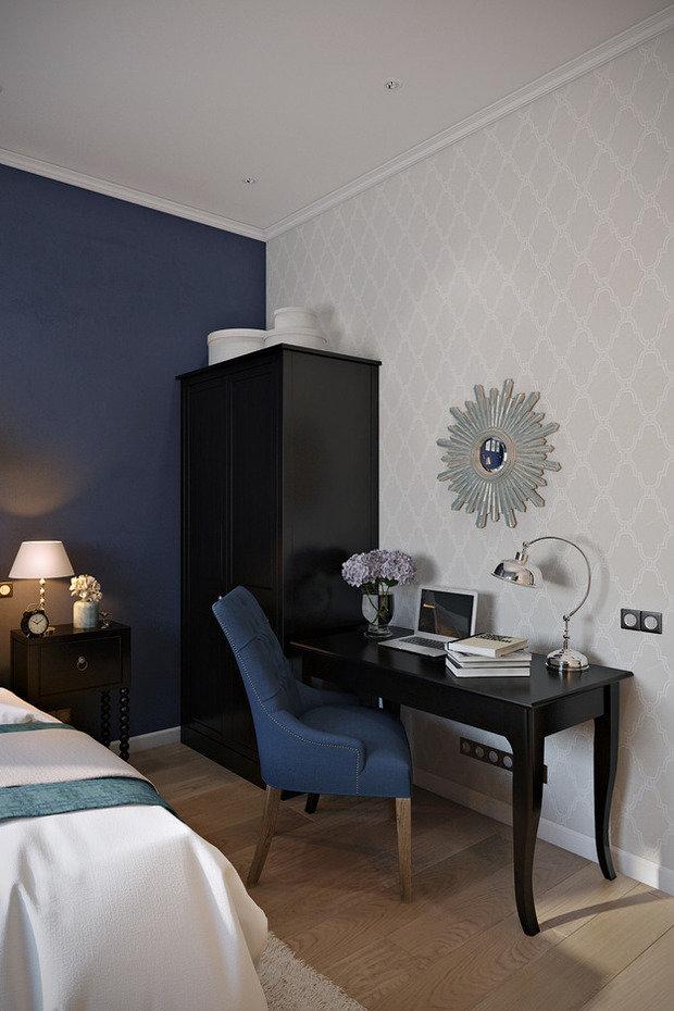 Фотография: Спальня в стиле Эклектика, Лофт, Квартира, Проект недели – фото на InMyRoom.ru