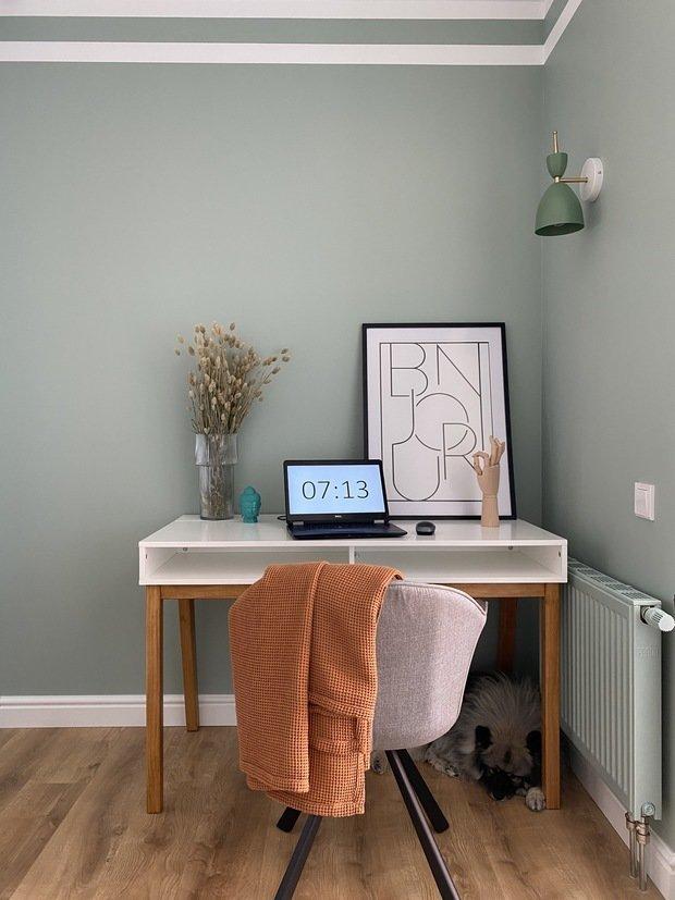 Фотография: Кабинет в стиле Современный, Квартира, Проект недели, 3 комнаты, 60-90 метров, Екатерина Уланова – фото на INMYROOM