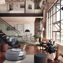 Фото из портфолио Вневременной и элегантный ЛОФТ – фотографии дизайна интерьеров на INMYROOM