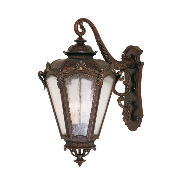 Купить Настенный уличный светильник Savoy House из кованного металла, inmyroom, Испания