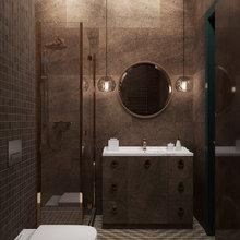 """Фото из портфолио """"Мерло и ель"""" – фотографии дизайна интерьеров на INMYROOM"""