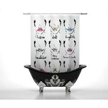 Штора для ванной: Усики
