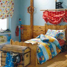 Фотография: Детская в стиле Кантри, Эко, Декор интерьера, Интерьер комнат, Мебель и свет – фото на InMyRoom.ru