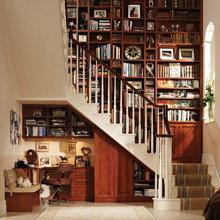 Фотография: Офис в стиле Классический, Современный, Гардеробная, Декор интерьера, Хранение, Декор дома, Лестница, Гардероб – фото на InMyRoom.ru