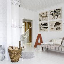 Фотография: Гостиная в стиле Скандинавский, Декор интерьера, Дом, Декор дома – фото на InMyRoom.ru