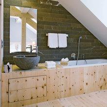 Фотография: Ванная в стиле Эко, Дом, Дома и квартиры – фото на InMyRoom.ru
