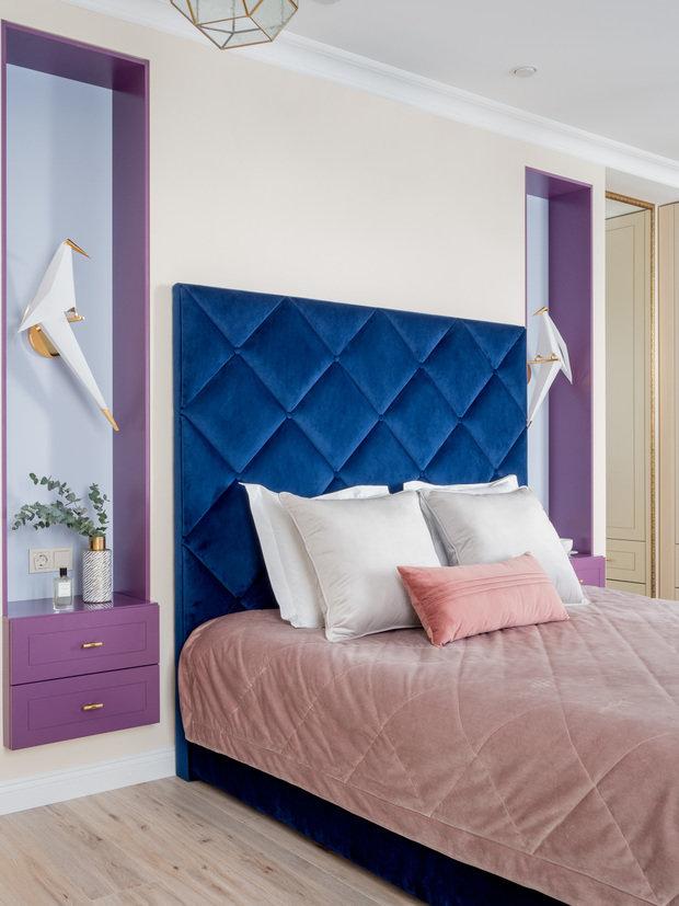 Фотография: Спальня в стиле Классический, Современный, Проект недели – фото на INMYROOM
