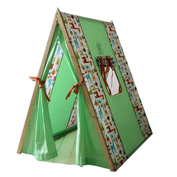 "Палатка телтспил ""Африканское сафари"" сосна, хлопок"