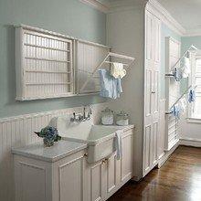 Фотография: Ванная в стиле Скандинавский, Кухня и столовая, Интерьер комнат, Цвет в интерьере, Белый – фото на InMyRoom.ru