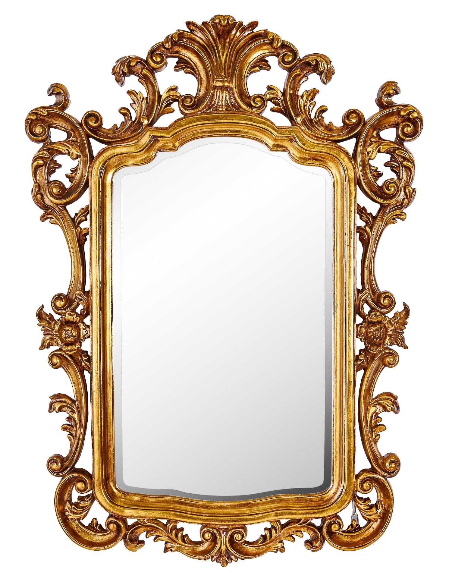 Купить Настенное зеркало в раме барокко Devon, inmyroom, Россия