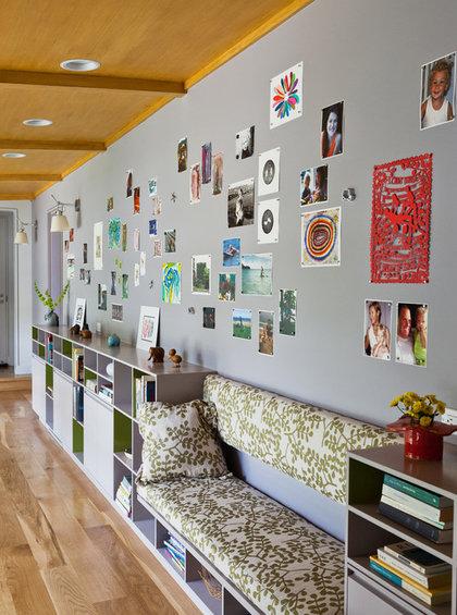 Фотография: Декор в стиле Современный, Декор интерьера, Декор дома, Цвет в интерьере, Обои – фото на InMyRoom.ru