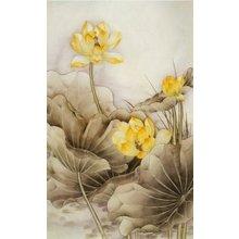 Декоративная картина: Лимонные цветы