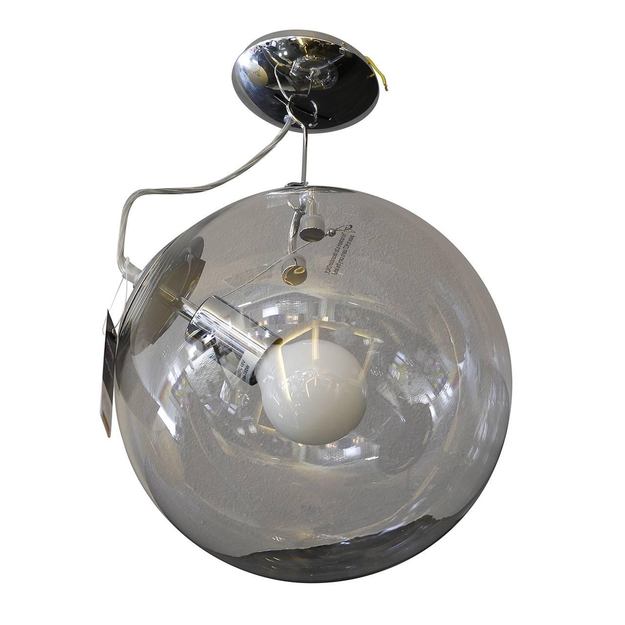 Подвесной светильник Feuerball с плафоном из стекла