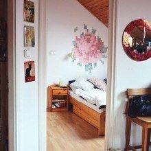 Фотография: Спальня в стиле Кантри, Декор интерьера, DIY, Дом, Декор дома, Советы, Картины, Зеркала – фото на InMyRoom.ru