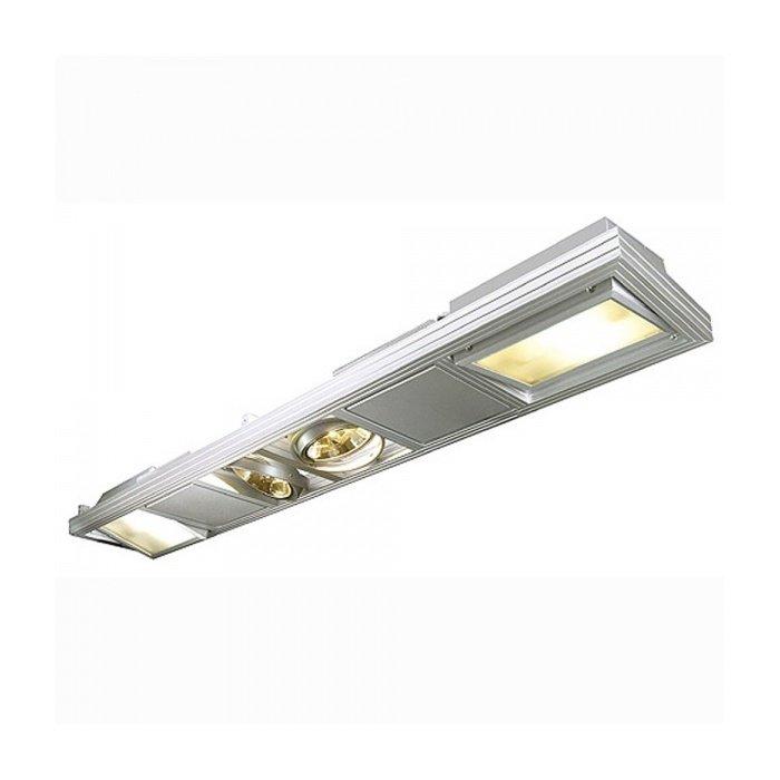 Светильник подвесной SLV Aixlight Shop серебристый