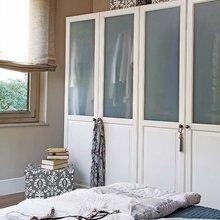 Фотография: Спальня в стиле Современный, Квартира, Цвет в интерьере, Дома и квартиры, Бежевый – фото на InMyRoom.ru