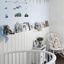 Фотография: Детская в стиле Скандинавский, Дом, Цвет в интерьере, Дома и квартиры, Белый – фото на InMyRoom.ru