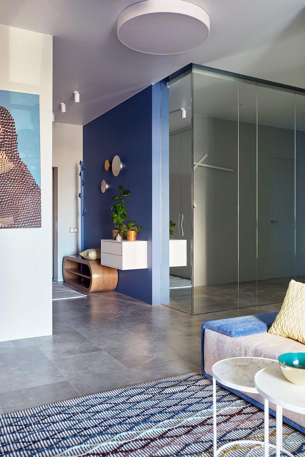 Фотография: Прихожая в стиле Современный, Квартира, Проект недели, Москва, 2 комнаты, 60-90 метров, Валерия Москалева – фото на INMYROOM